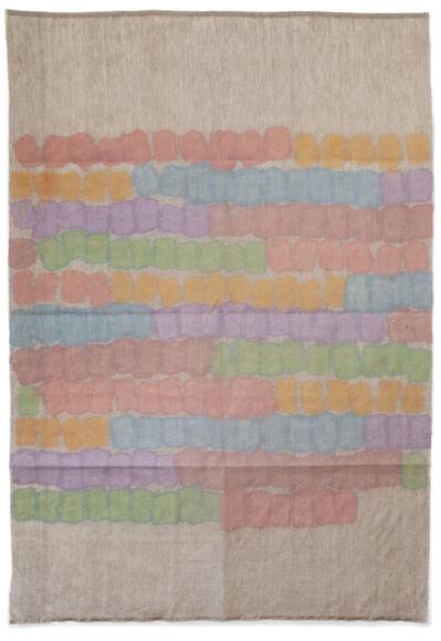 Giorgio Griffa, 'Segni orizzontali', 1978