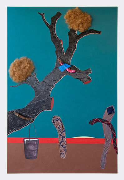 Simphiwe Ndzube, 'Untitled(Tree)', 2015