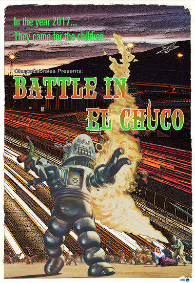 Angel Cabrales, 'Battle in El Chuco', 2019