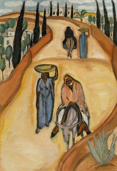 Reuven Rubin, 'Untitled', 1923-24