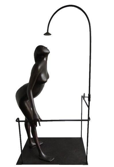 Cornelis Zitman, 'La Ducha', 1985