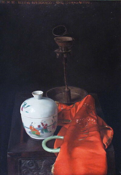 Weidong Wang, 'Still Life With Jade And Incense Burner', 2000