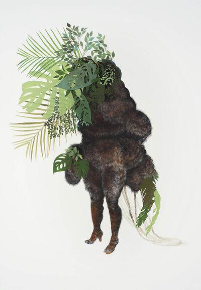 Firelei Báez, 'Ciguapa Pantera (to all the goods and pleasures of this world)', 2015