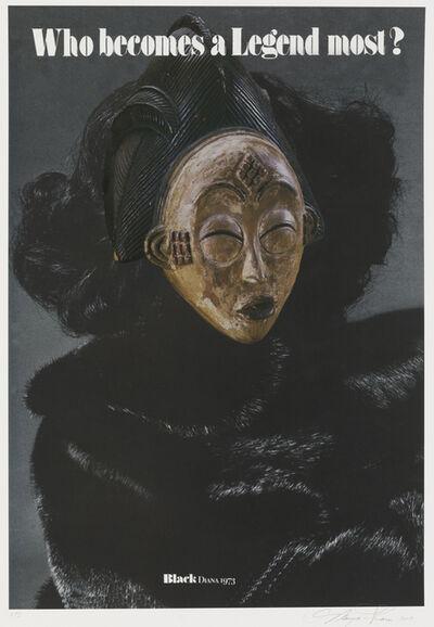 Margaret Rose Vendryes, 'Blackglam Legends: Black Diana 1973', 2019