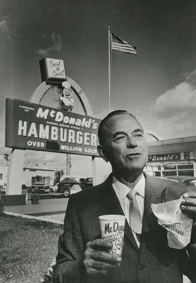 Art Shay, 'McDonald's Founder Ray Kroc', 1966