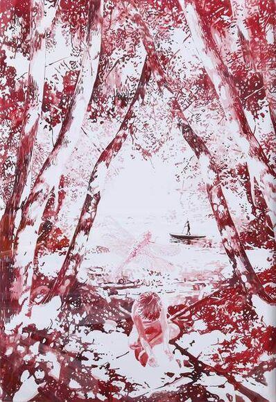 Malgosia Jankowska, 'Libelle im Rot I', 2020