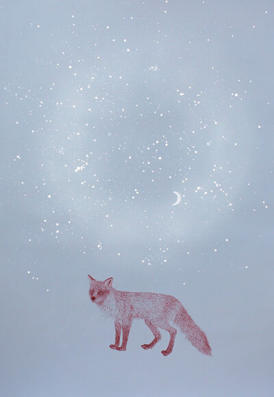 Masako Miki, 'Delivering Message (fox)', 2016