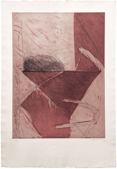 Albert Ràfols-Casamada, 'ABRIL-3 (ROSE)', 1985