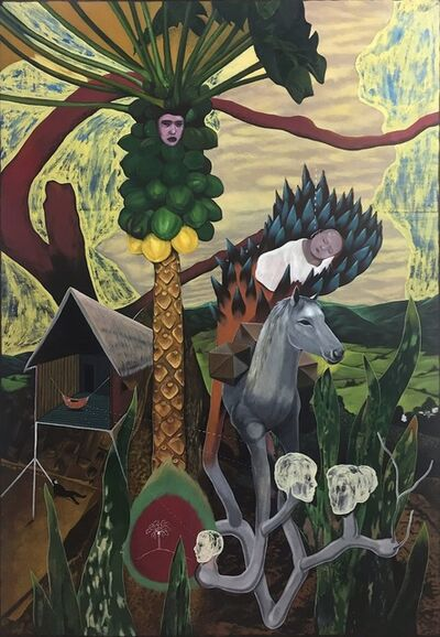 Rodel Tapaya, 'Legend of Papaya', 2017