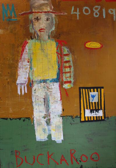 Michael Snodgrass, 'Buckaroo with masked man', 2019
