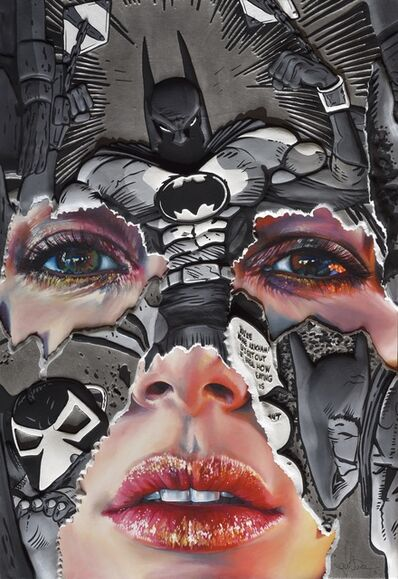Sandra Chevrier, 'The Cage Between Freedom and Captivity: Pewter, Black and White Hand Embelished', 2019