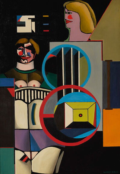 Richard Lindner, 'Pause', 1958-1961