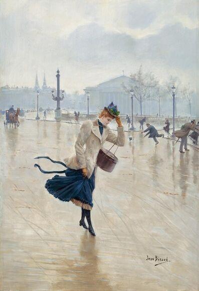 Jean Béraud, 'Windy Day, Place de la Concorde', ca. 1890