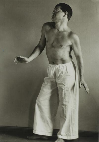 August Sander, 'Raoul Hausmann as a Dancer', 1929