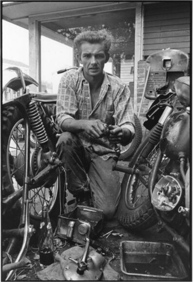 Danny Lyon, 'Broken gear box spring, New Orleans, The Bikeriders Portfolio', 1964