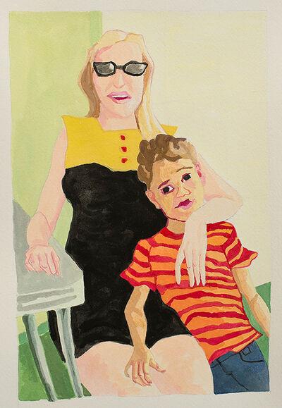 Ruth Owens, 'Motherboy (study) ', 2017