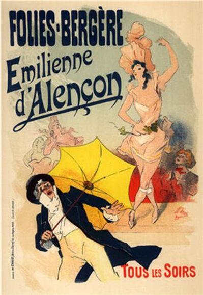 Jules Chéret, 'Emilienne d'Alencon', 1895-1900