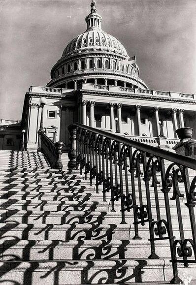 "Margaret Bourke-White, 'MARGARET BOURKE-WHITE (AMERICAN, 1904-1971): ""THE CAPITOL STEPS, WASHINGTON, D.C', 20th Century"