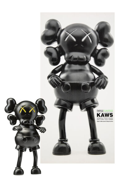 KAWS, 'BXH Real Mad Hectic Companion and New Museum poster', 2000