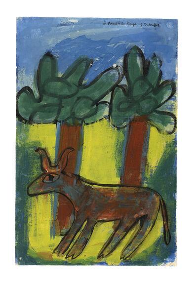 Jean Dubuffet, 'Vache aux deux arbres', 1943