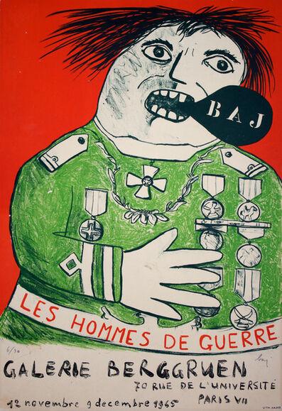 Enrico Baj, 'Homme de Guerre', 1965
