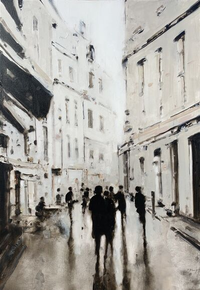Geoffrey Johnson, 'Paris Street II', 2018