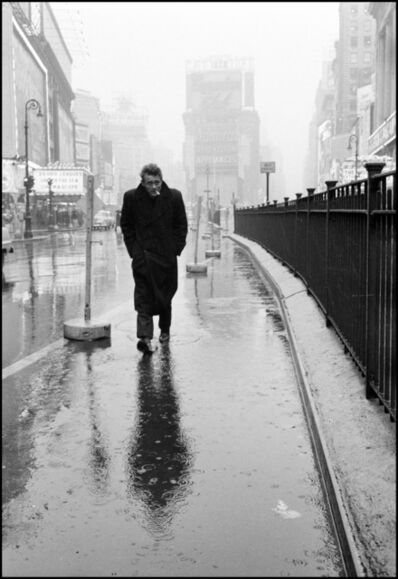 Dennis Stock, 'James Dean in New York City, ', 1955