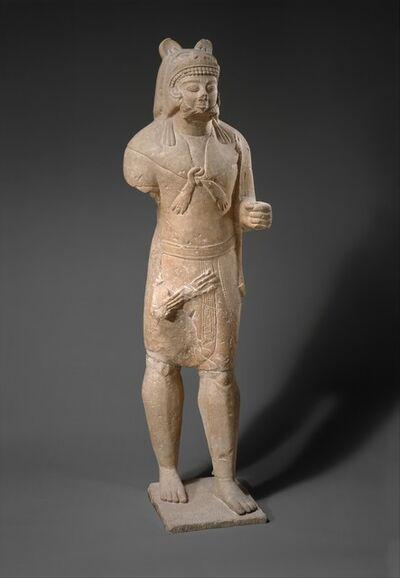 Unknown Cypriot, 'Limestone Herakles', ca. 530–520 B.C.