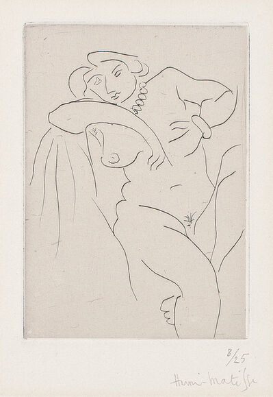 Henri Matisse, 'Nu assis au collier de perles (Nude Sitting with a Pearl Necklace)', 1929