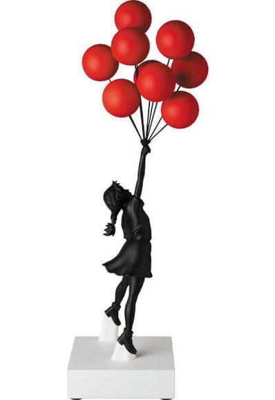 Banksy, 'Flying Balloon Girl Black/Red', 2020