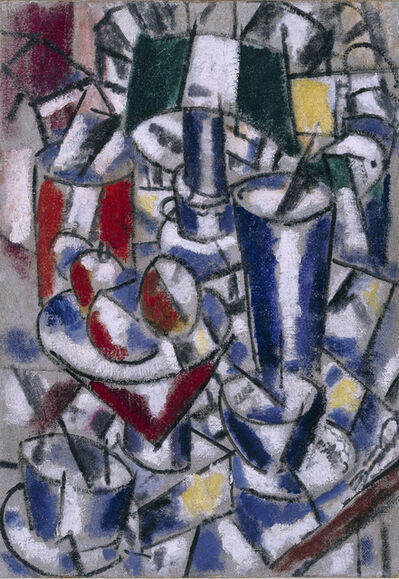 Fernand Léger, 'Nature morte à la lampe (Still Life with Lamp)', 1914