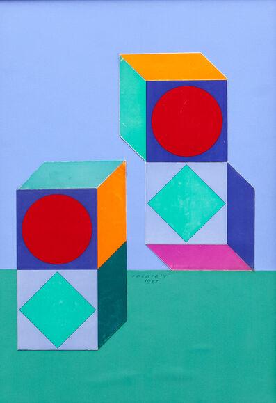 Victor Vasarely, 'Lapidaire', ca. 1975