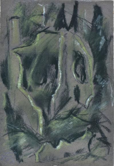 Otto Dix, 'TRÜMMER BEI NACHT', circa 1916