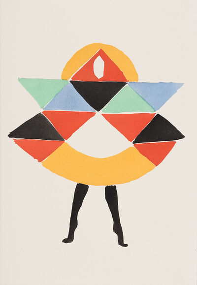 Sonia Delaunay, '27 Tableaux Vivants', 1969