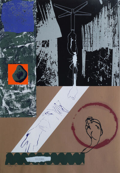 R. B. Kitaj, 'Glue Words', 1967