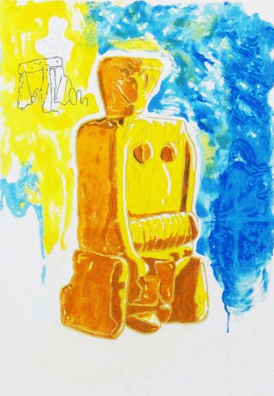 Mario Schifano, 'Mater Matuta', 1996