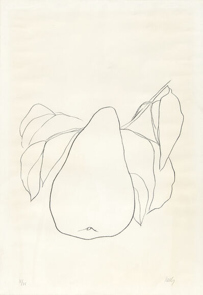Ellsworth Kelly, 'Pears III, (A.47)', 1965-1966