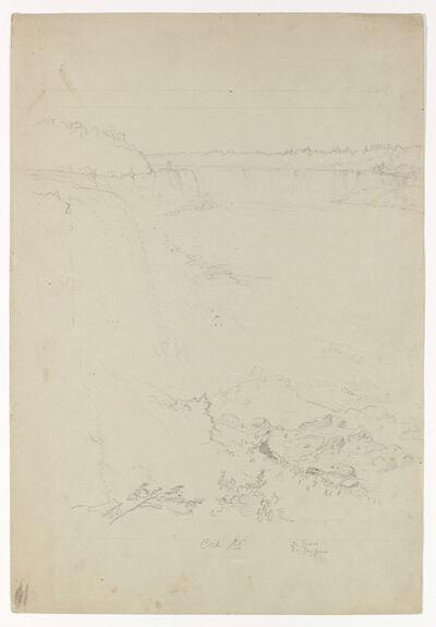 Frederic Edwin Church, 'Niagara Falls from the American Side', 1856
