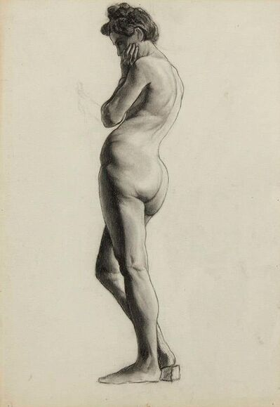 Unknown, 'Female Nude', Mid-20th Century