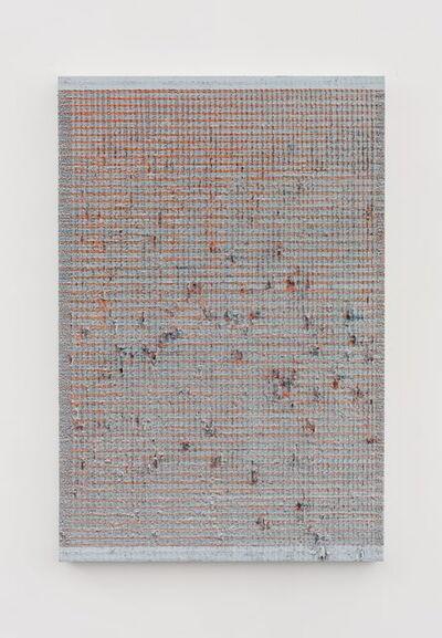 Chi Qun 迟群, '两分 - 灰橘 Bisect - Gray and Orange', 2018