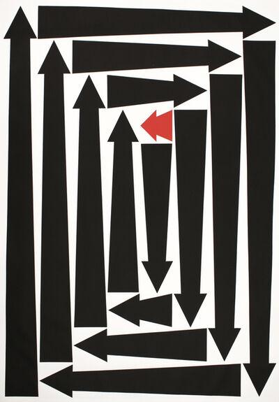 James Siena, 'Underdog (one)', 2013