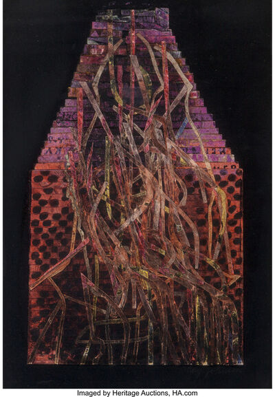Ray Johnson, 'Vines', 1958