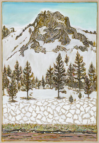 Billy Childish, 'ceder ridge', 2016