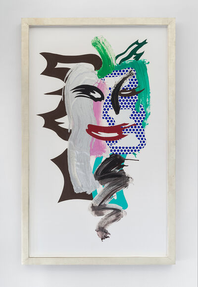 Roy Lichtenstein, 'Untitled (Brushstroke Head)', 1986