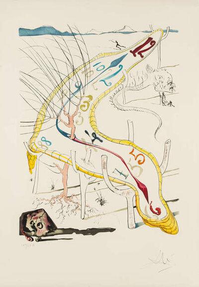 Salvador Dalí, 'Les Montres gélatines de l'espacetemps', 1974