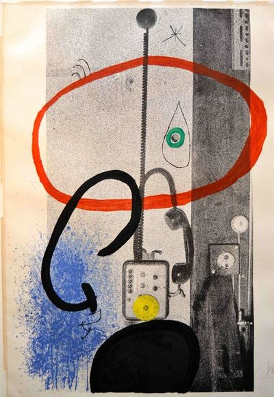 Joan Miró, 'Night Watchman ', 1971