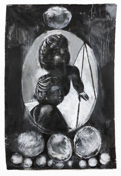 Tony Clark, 'Design for a Portrait Jewel (Two children)', 2015