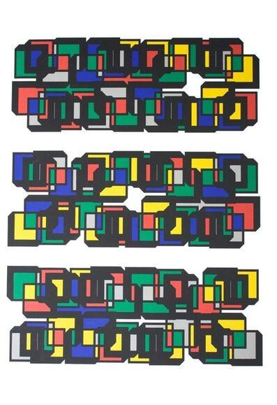 Tepeu Choc, 'Font wingdings', 2012