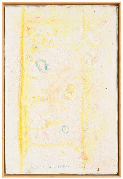 """Pier Paolo Calzolari, 'Untitled, from """"Muitos estudos para uma casa de limão"""" series', 2018"""