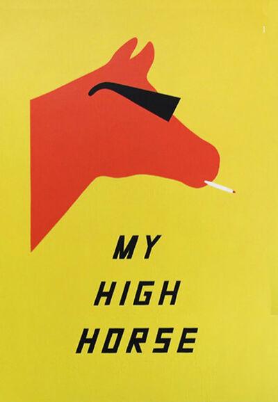 Scott Patt, 'My High Horse', 2014
